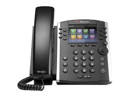 Polycom 2200-48400-001-VQMON – VVX 401 12-line Desktop Phone with HD Voice PoE – with Power Supply and VQMON