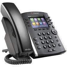 Polycom 2200-48400-019 – VVX 401 12-line Desktop Phone with HD Voice (PoE) Skype for Business Edition