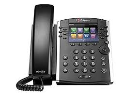 Polycom 2200-48400-025 – VVX 401 12-line Desktop Phone with HD Voice PoE