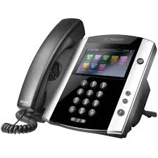 Polycom 2200-48600-019VVX 601 16-line Business Media Phone with built-in Bluetooth (PoE) Skype for Business Edition