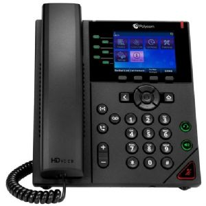 Polycom 2200-48832-001 – VVX 350 OBi Edition Desktop Business IP Phone – Includes Power Supply
