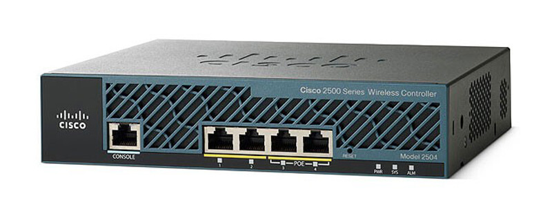 Cisco AIR-CT2504-15-K9 – 2504 Wireless Controller with 15 AP Licenses
