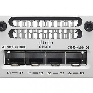 Cisco C3850-NM-4-10G – Cisco Catalyst 3850 4 x 10GE Network Module
