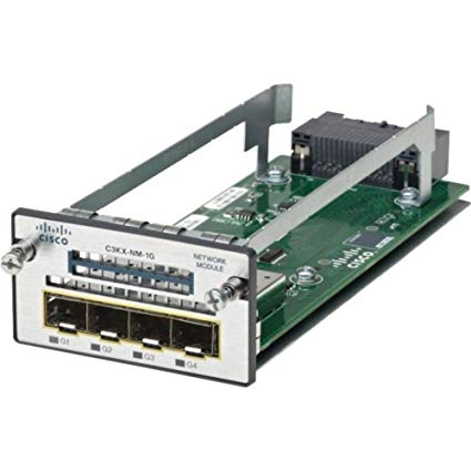 Cisco C3KX-NM-1G – Catalyst 3K-X 1G Network Module
