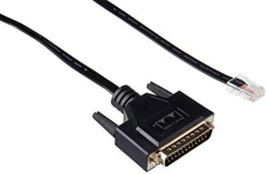 Cisco CAB-AUX-RJ45=Auxiliary Cable 8ft with RJ45 and DB25M