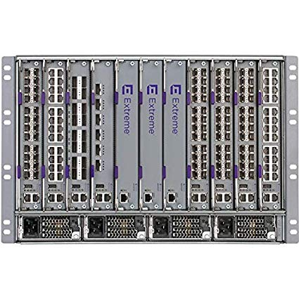Extreme Networks EC8602001-E6 – VSP8608 Chassis includes 5 Fan Trays