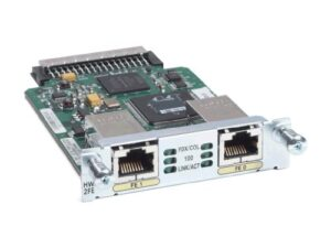 Cisco HWIC-2FE – Two 10/100 routed port HWIC