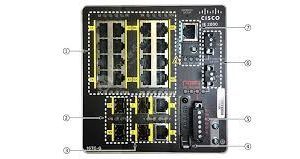 Cisco IE-2000-16TC-G-N – IE16 10/100 2 FE SFP+2 T/SFP Base w/1588 &NAT
