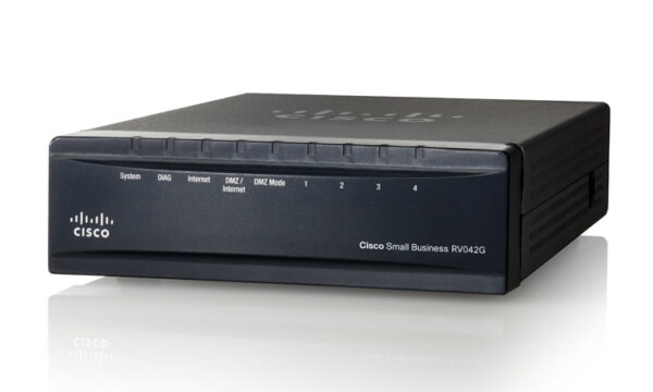 Cisco RV042G-K9-NA – Gigabit Dual WAN VPN Router