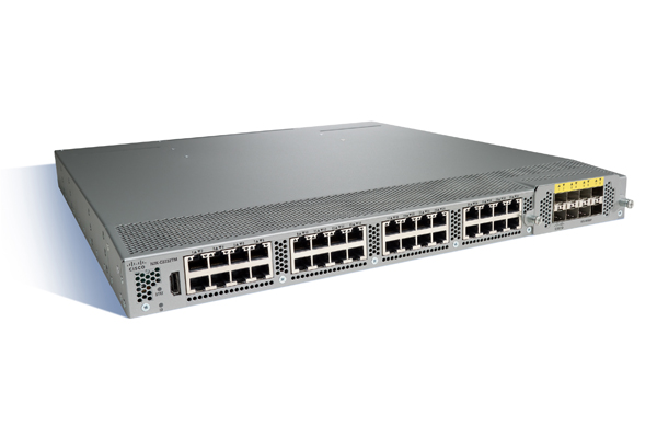 Cisco N2K-C2232TM – 10GE 32×1/10GT+8x10GE airflow/power option