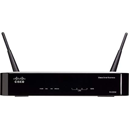 Cisco RV220W-A-K9-NA – CiscoRV220W WirelessN NetworkSecurityFirewall