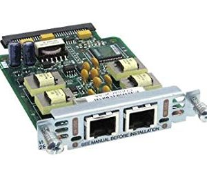 Cisco VIC3-2E/M – Two-port Voice Interface Card – E and M