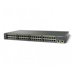 Cisco WS-C2960-48TT-S – Cat2960 48 10/100 + 2 1000BT LAN Lite Image