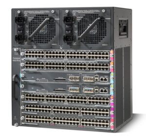 Cisco WS-C4507R+ECatalyst4500E 7 slot chassis for 48Gbps/slot