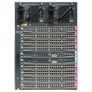 Cisco WS-C4510R+ECatalyst4500E 10 slot chassis for 48Gbps/slot