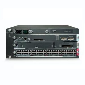 Cisco WS-C6503-ECat6500 Enh 3slotchassis4RU no PS no Fan Tray