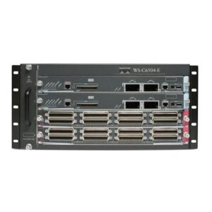 Cisco WS-C6504-EEnh C6504 Chassis 4slot No PS No Fan Tray