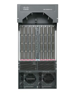 Cisco WS-C6509-V-ECat6500Enhan 9slot Chass(Vertical) No PS Fan