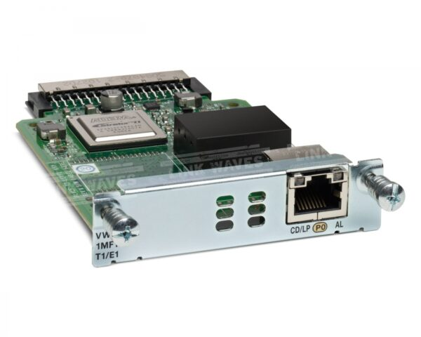 Cisco VWIC3-1MFT-T1/E1= – 1-Port 3rd Gen MultiflexTrunk Voice/WIC T1/E1