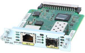 EHWIC-1GE-SFP-CU= Cisco Gigabit ISR (gen2) Expansion Module